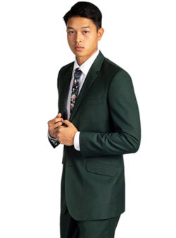 Hunter Green Suit